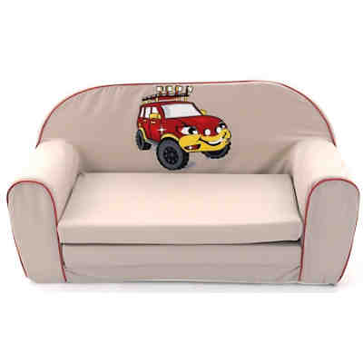 Kindersofa Safari-Car, braun