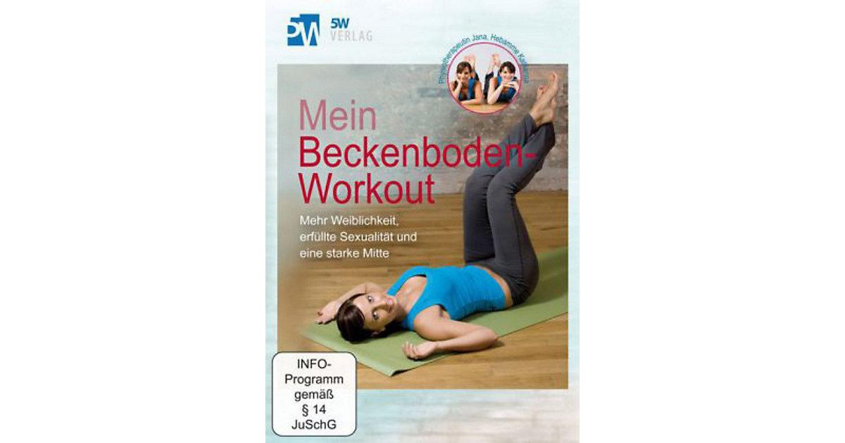 Buch - Mein Beckenboden-Workout, 1 DVD
