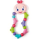 """Развивающая игрушка-прорезыватель """"Гусеничка"""" Bright Starts, розовая"""