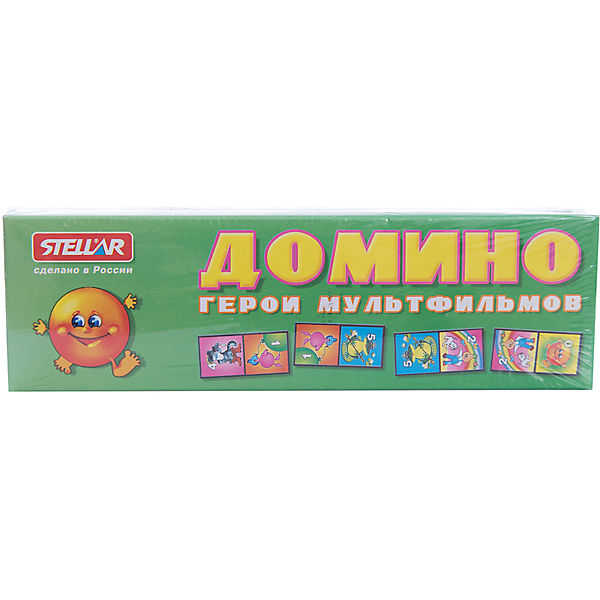 """Домино 3 """"Герои мультфильмов"""", Стеллар"""