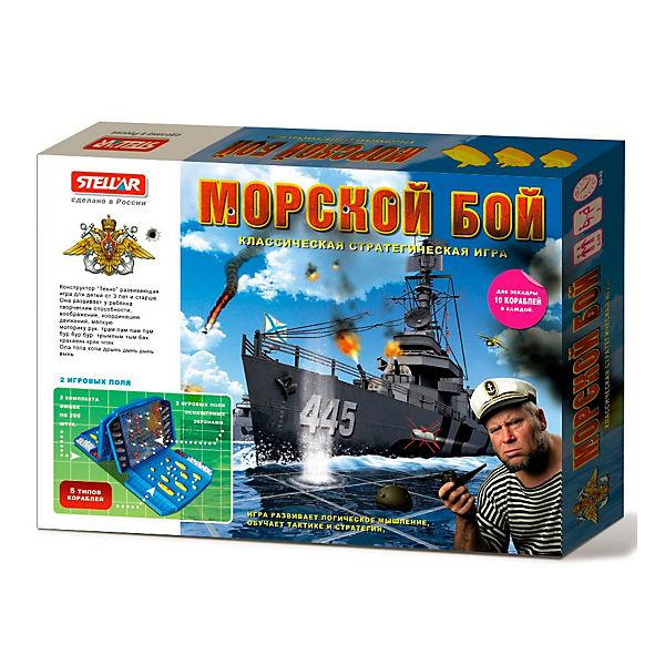 """Настольная игра  """"Морской бой"""", Стеллар"""