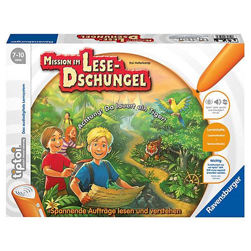 tiptoi Spiel Lese-Dschungel (ohne Stift)
