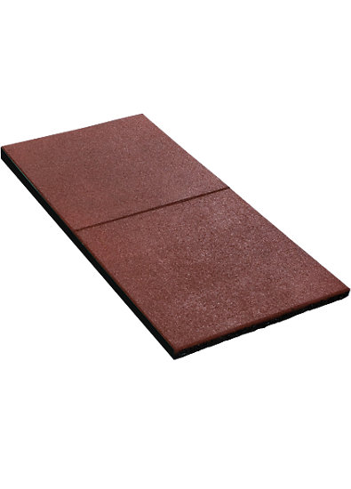 Fallschutzmatten rot,  2 Stück