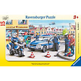 """Пазл """"Полицейские"""" Ravensburger, 15 деталей"""
