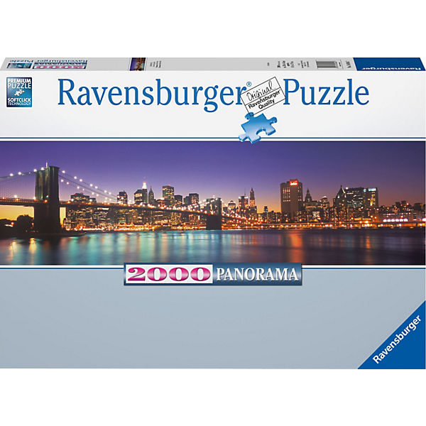 Puzzle New York City 2000 Teile
