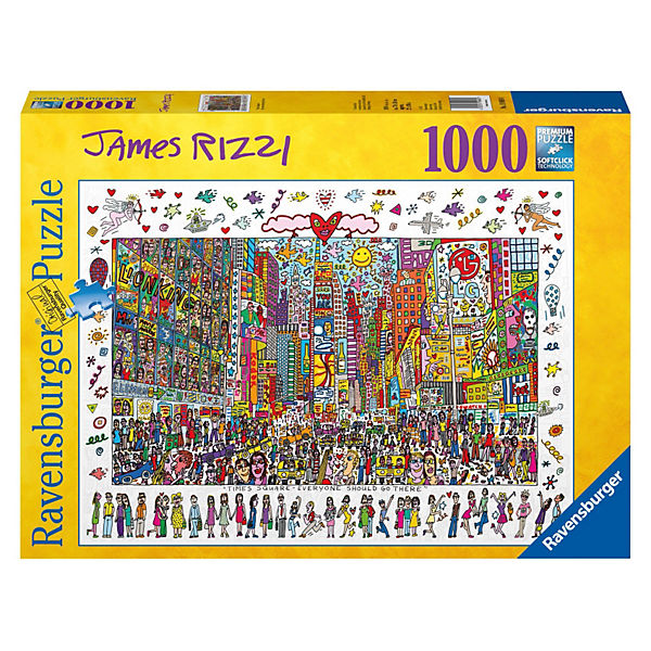 Puzzle Times Square - Everyone should go there 1000 Teile
