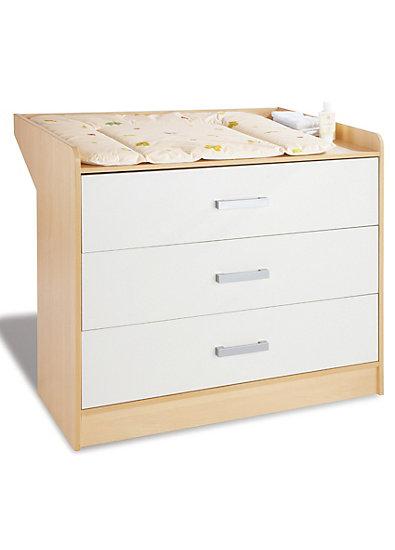 wickelkommode florian breit ahorn cremewei pinolino mytoys. Black Bedroom Furniture Sets. Home Design Ideas