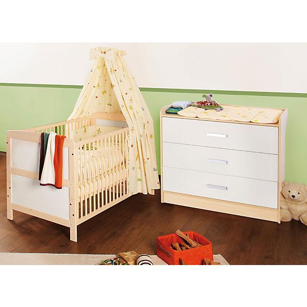 wickelkommode florian breit ahorn cremewei pinolino. Black Bedroom Furniture Sets. Home Design Ideas