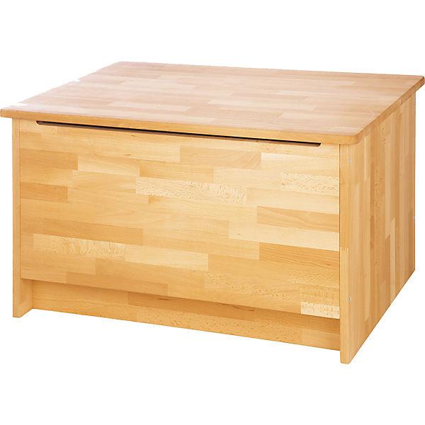 spielzeug truhe natura fagus fsc zertifizierte buche massiv ge lt pinolino mytoys. Black Bedroom Furniture Sets. Home Design Ideas