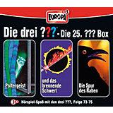 CD Die Drei ??? 25 - 3er Box - Folgen 73 - 75