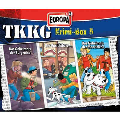 CD TKKG Krimi-Box 05 - 3er Box