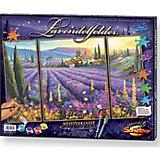 Malen nach Zahlen Lavendelfelder (Triptychon)