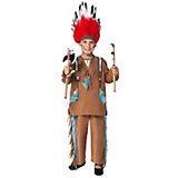 Kostüm Indianer, hellbraun
