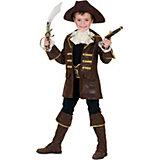 Kostüm Pirat, braun