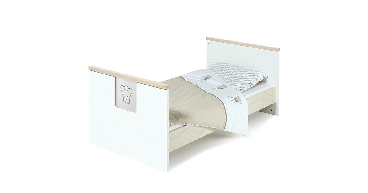 Umbauseiten zu Kinderbett ECO SLIDE, ahorn weiß