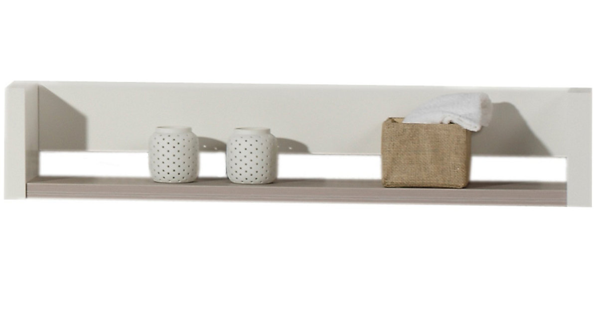 schardt wandregal milano pinie silber wei. Black Bedroom Furniture Sets. Home Design Ideas