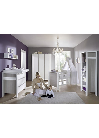 komplett kinderzimmer milano pinie 3 tlg kinderbett. Black Bedroom Furniture Sets. Home Design Ideas