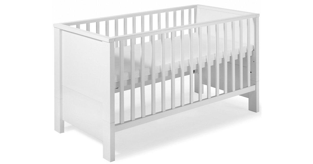 Kinderbett MILANO weiß, 70 x 140 cm