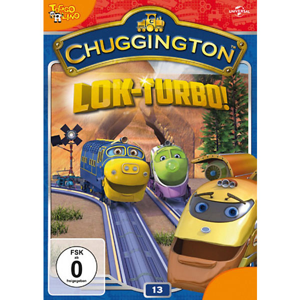 DVD Chuggington - Volume 13