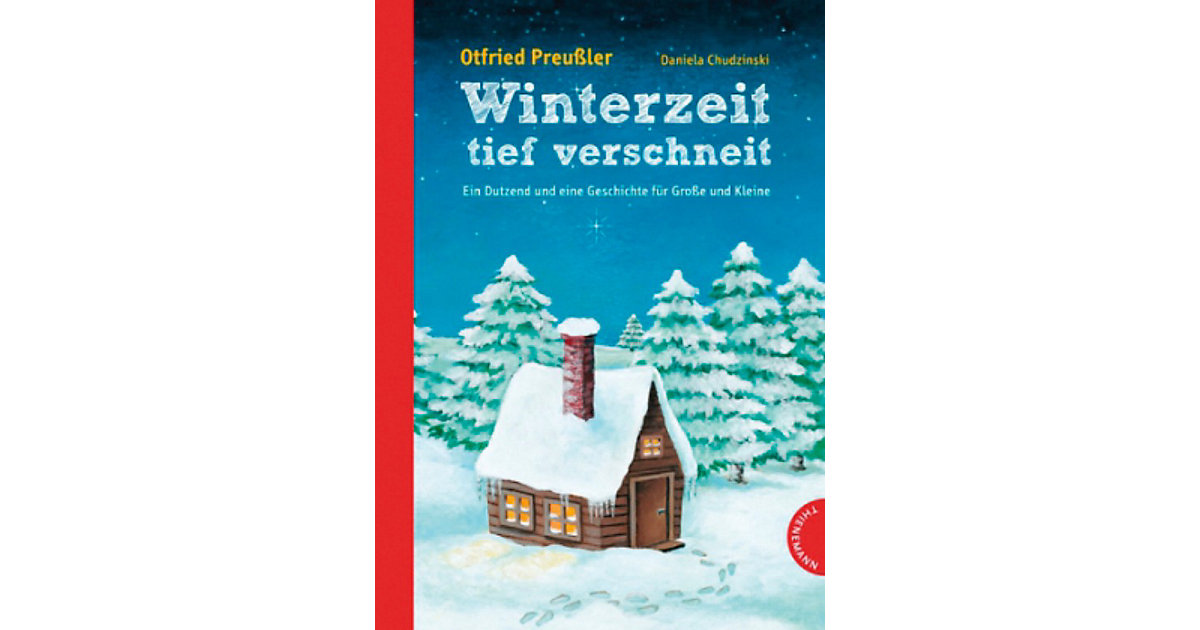 Buch - Winterzeit, tief verschneit
