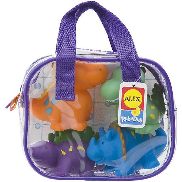"""Набор игрушек для ванны """"Динозаврики"""", Alex"""