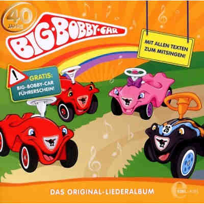 CD Big Bobby Car - Liederalbum (Original)