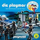 CD Die Playmos 28 - Den Bankräubern auf der Spur