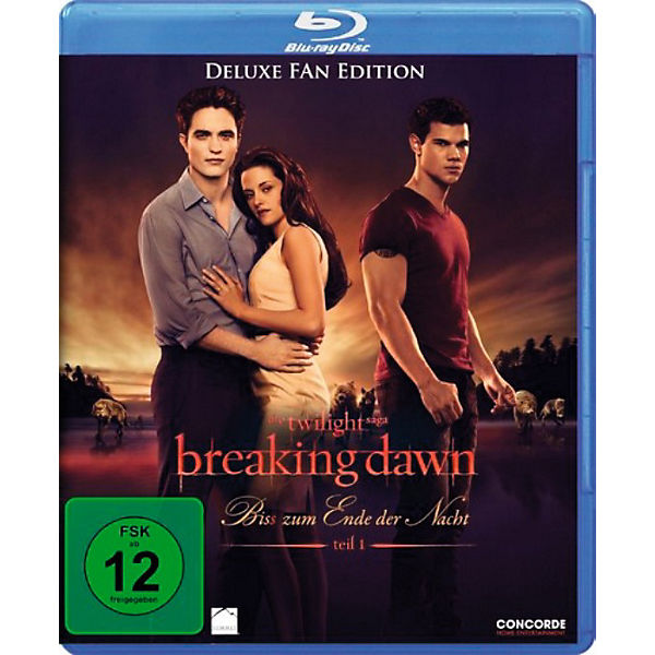 BLU-RAY Twilight - Breaking Dawn - Bis(s) zum Ende: Teil 1