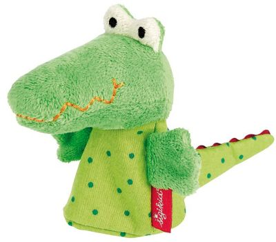 Sigikid | Fingerpuppe Krokodil