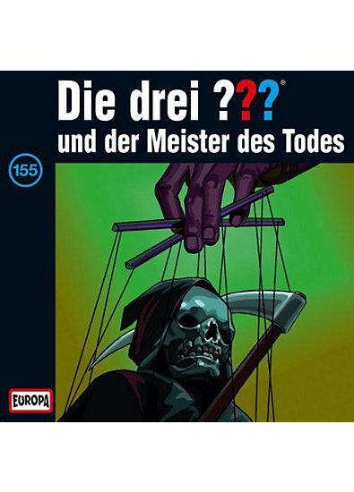 CD Die Drei ??? 155 - und der Meister des Todes