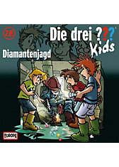 CD Die drei ??? Kids 28 - Diamanten Jagd