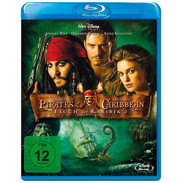 BLU-RAY Fluch der Karibik 2 (Single)