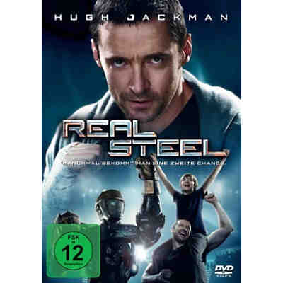 DVD Real Steel
