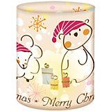 Mini-Tischlichter Merry Christmas, 5 Stück