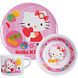 Kindergeschirr Hello Kitty Jelly Beans Melamin
