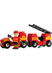 BRIO 33576 Light & Sound Feuerwehr