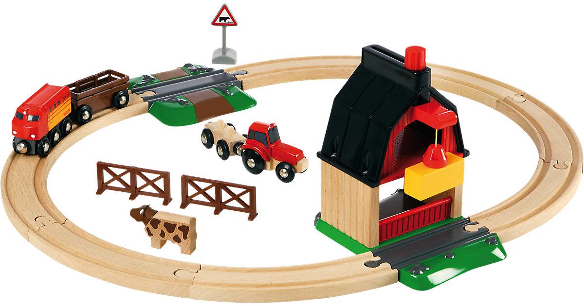 33718 BRIO Bahn Bauernhof Set