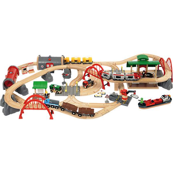Trenino Brio Set di strade e ferrovie Deluxe (33052) al miglior prezzo web italia