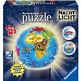 puzzleball® Nachtlicht Kindererde 72 Teile