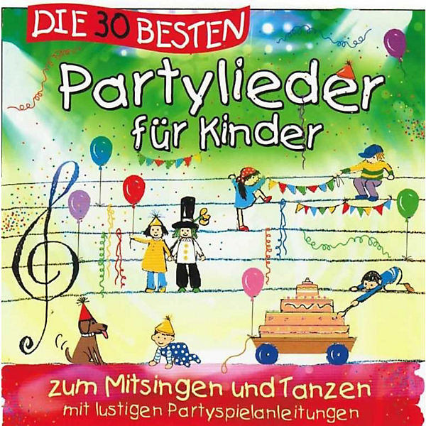 cd die 30 besten partylieder f r kinder universal mytoys. Black Bedroom Furniture Sets. Home Design Ideas