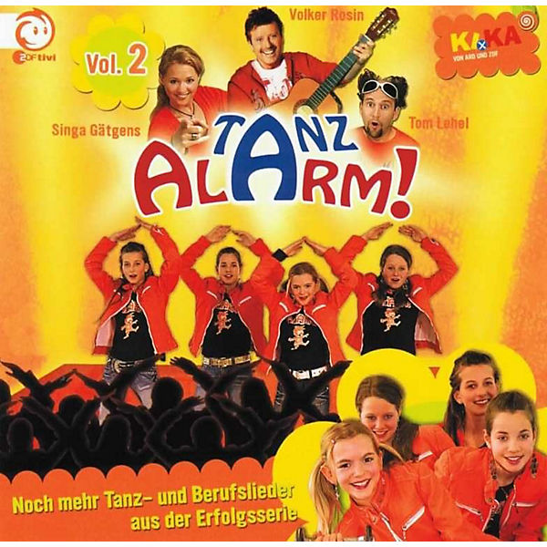CD KiKa Tanzalarm! Vol. 2