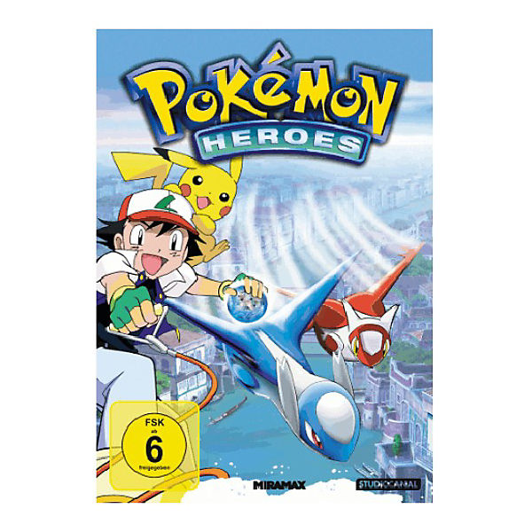 DVD Pokemon - Heroes
