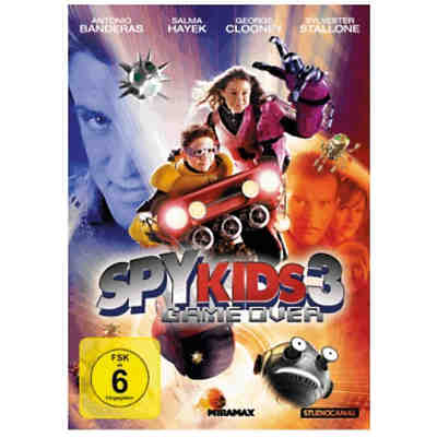 DVD Spy Kids 3 - Game over