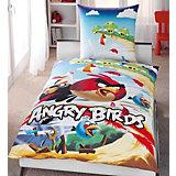 Kinderbettwäsche Angry Birds Cliffhanger, Renforcé, 135 x 200 cm