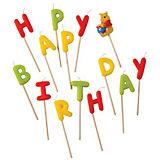"""Procos Свечи-буквы """"Винни Happy Birthday"""""""