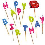 """Свечи-буквы """"Happy Birthday"""", Тачки"""