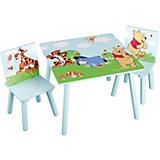 Kindersitzgruppe 3-tlg., Winnie the Pooh