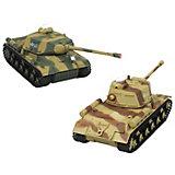 Jamara RC Panzer Battle Set, 1:43, 27 + 40 MHz, RTR