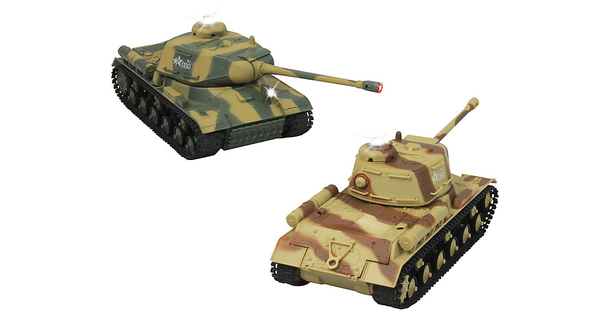 Jamara RC Panzer Battle Set, 1:43, 27 + 40 MHz,...