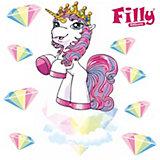 Wandsticker Filly, Princess Sparkle, 9-tlg.